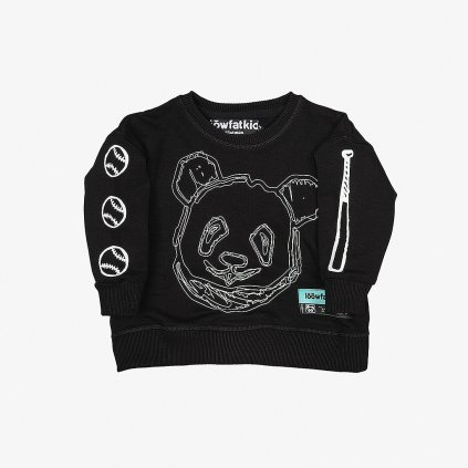19LFKSCMJBLK KIDS Crewneck Major League BLK 01