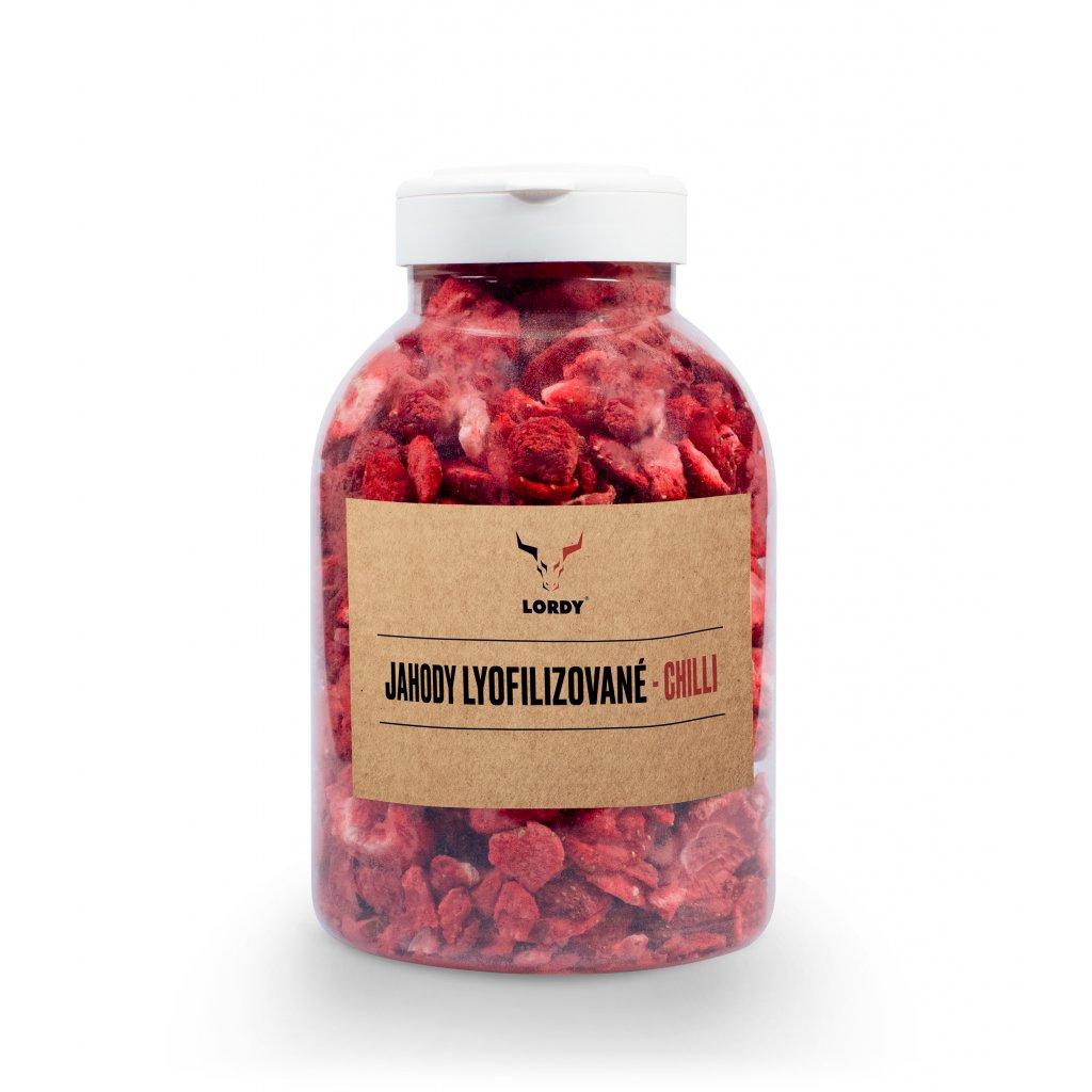 LJ jahody lyofilizovane chilli lahvicka front