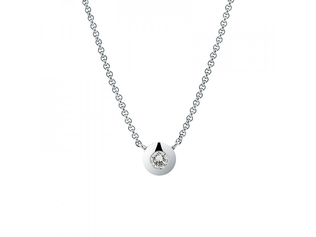 Diamond Ball Necklace