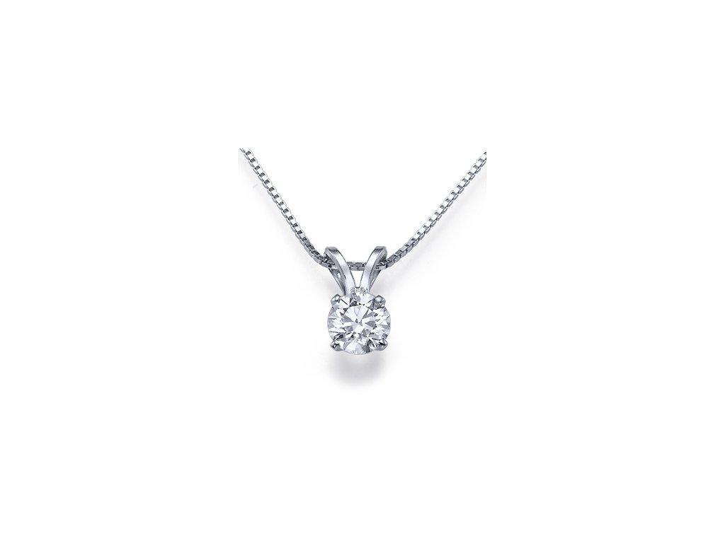 Diamond Classic Pendant 0,30 CT