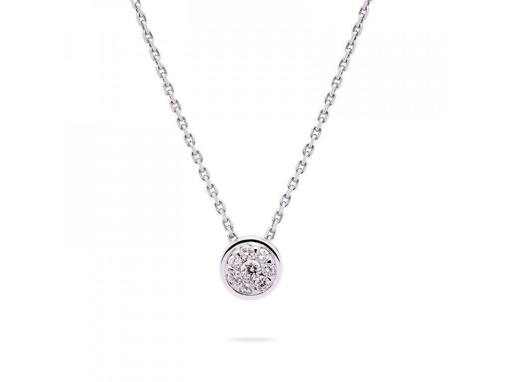 Diamond Dot White pendant