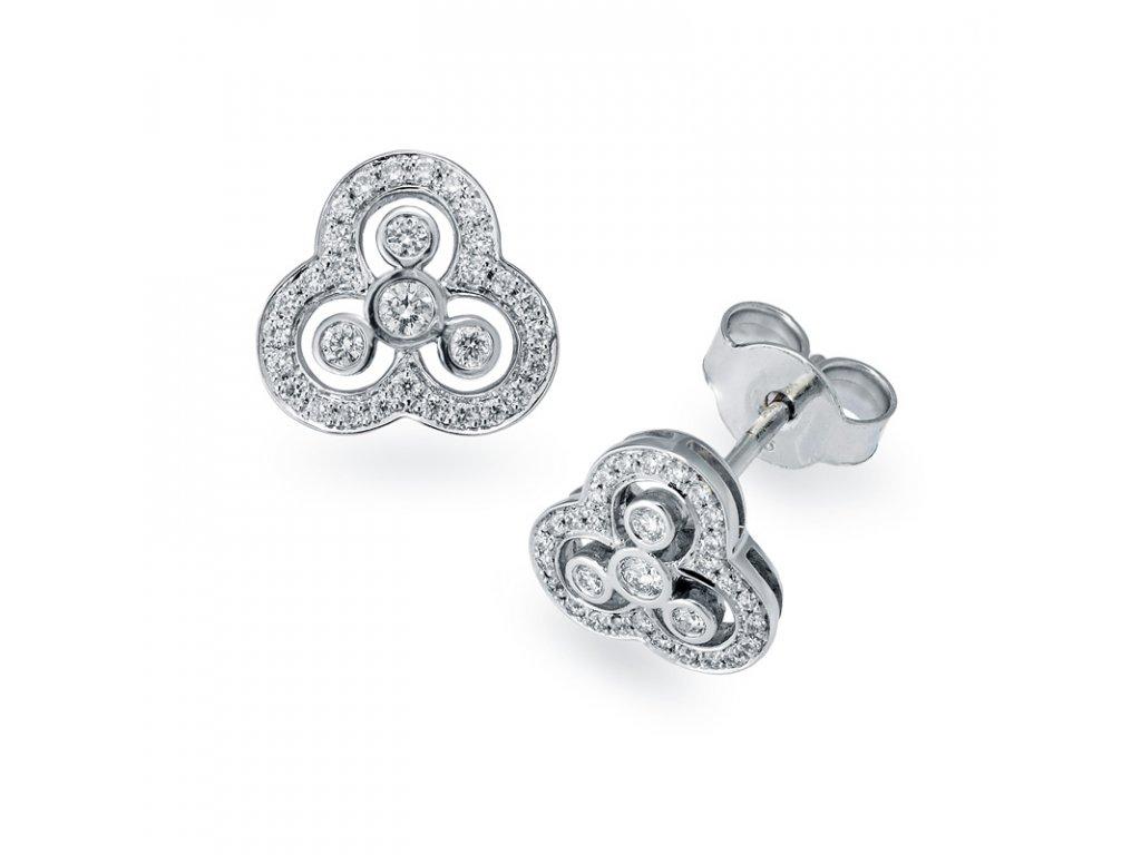 Tiara Diamond Earrings
