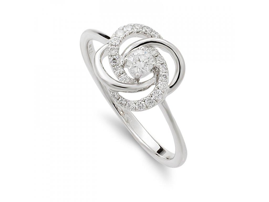 Diamond Knot prsten