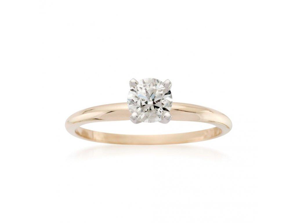 Diamond Classic Ring 0,15 CT