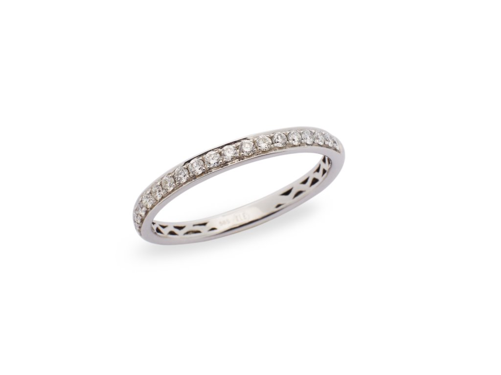 French Chic Diamond Ring 0,30 CT