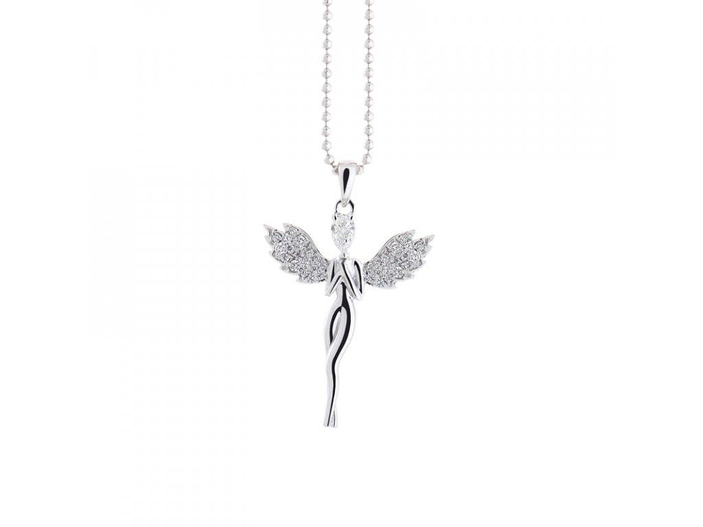 kolekce Loriginal přívěsek Angel Diamond PS Dia bílé zlato 14K