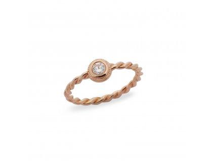 Orion Diamond Ring 0,10 CT PG