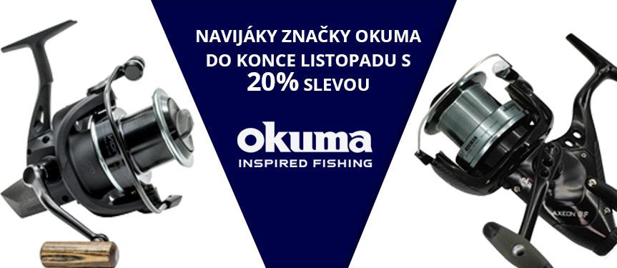 Navijáky Okuma 20% sleva