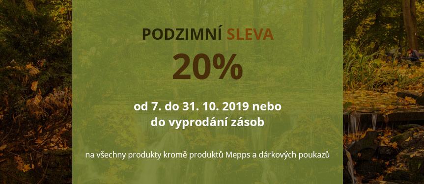 Podzimní akce 20%
