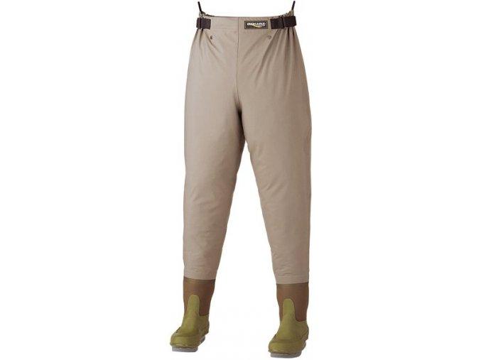 AQUAZ Rybářské brodicí kalhoty do pasu BR-305 F