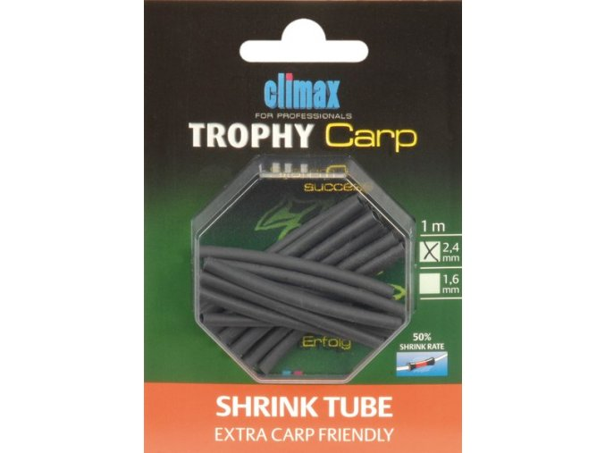 Climax Trophy Carp Shrink Tube Extra Carp Friendly
