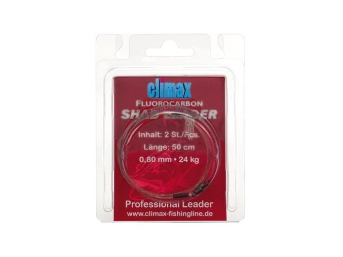 CLIMAX FLUOROCARBON SHAD LEADER