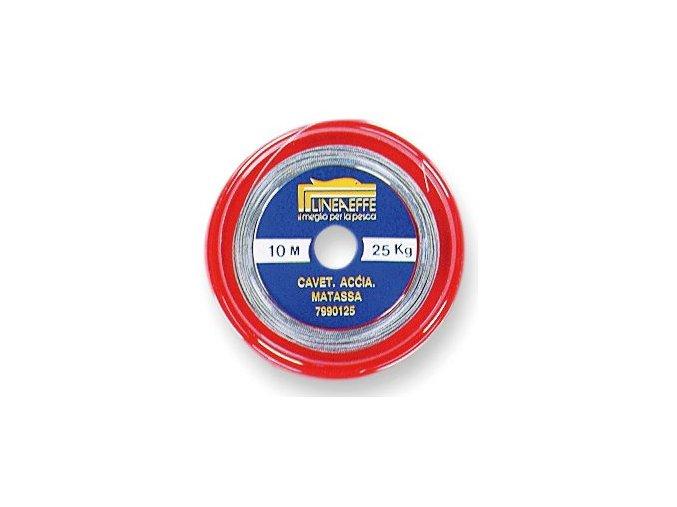 LINEA EFFE Opláštěné ocelové lanko 1x7 s trubičkami