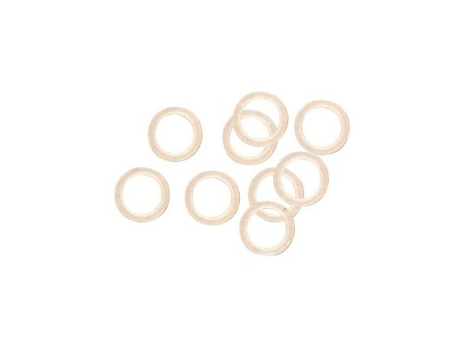 Gumové kroužky k uchycení nástrahy
