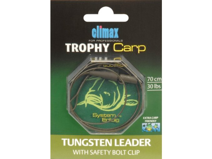 Climax Trophy Carp Tungsten with Safety Bolt Clip