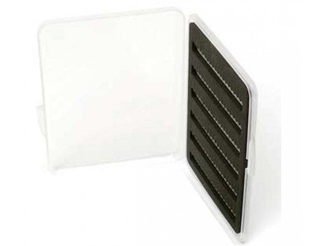 Slim ultra tenká střední muškařská krabička 125x95x13 mm