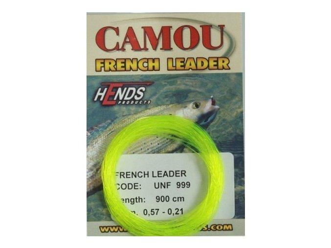 HENDS Camou French Leader barva žlutá fluo, 900 cm