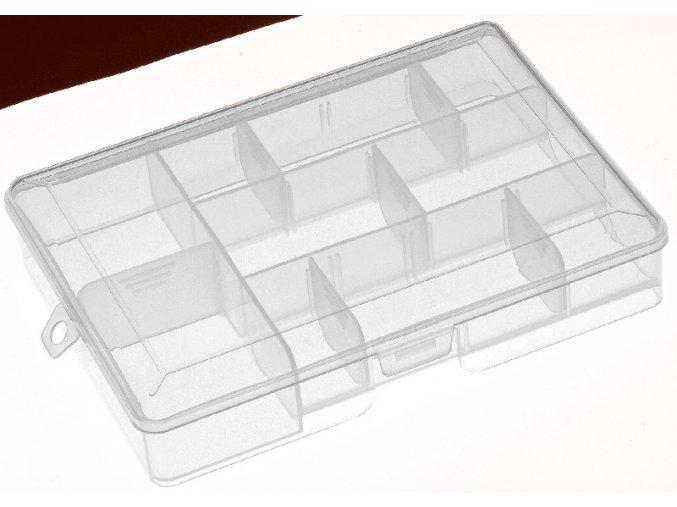 Cormoran krabička průhledná - 20x14,5x4 cm