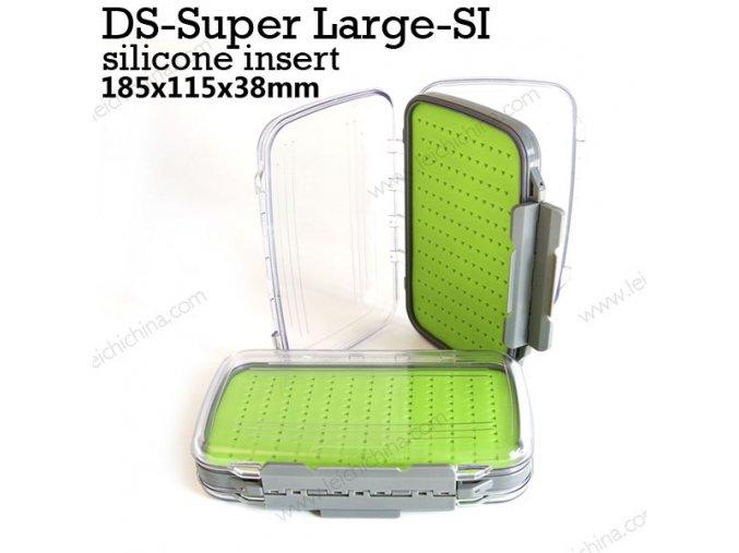 Krabička zelená velká HB 28 S (silikonová)