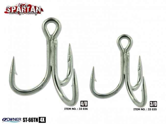 Spartan Cat Treble Hook