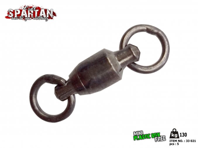 Obratlík SPARTAN BALL BEARING SWIVEL 130 kg 5 ks
