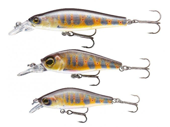 Sady woblerů Real Fish Cormoran 3ks (více barevných variant)