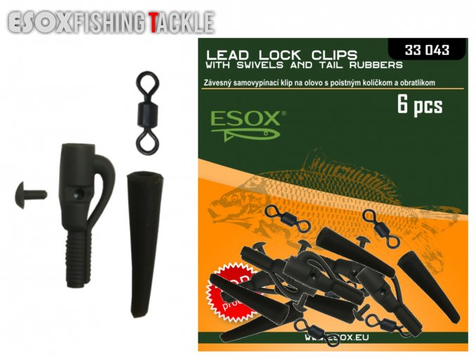 Esox Lead Lock Clips