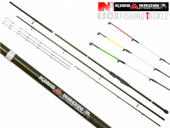 esox king arrow quatro original