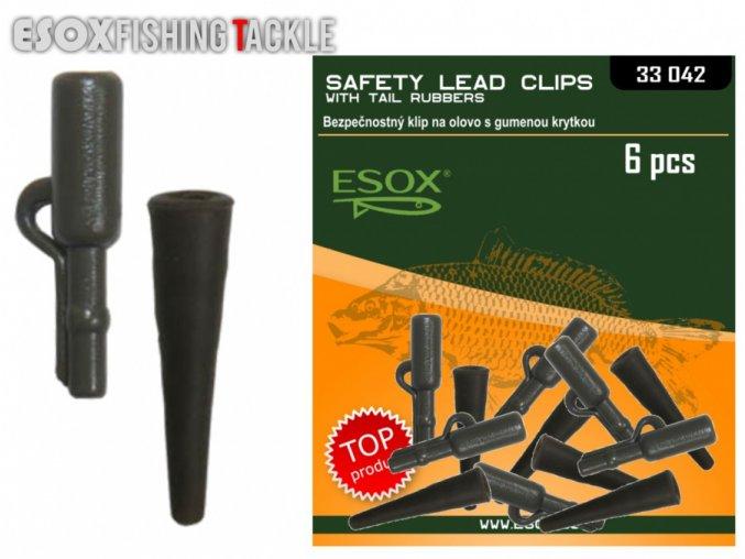 esox safety lead clips original