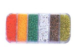 Sortiment skleněných korálků  6224