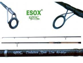 esox evolution spin 270 original