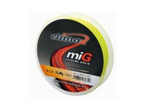 CLIMAX MIG 135m žlutá