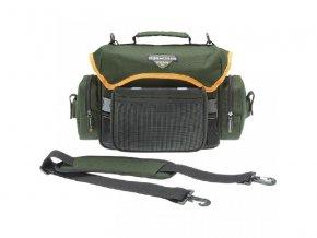 Cormoran taška zpevněná na nástrahy s krabičkami 5002 40*15*21