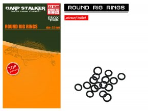 Esox Round Rig Rings 3,7 mm