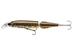 Dělený Wobler Real fish Cormoran 230mm (více barevných variant)