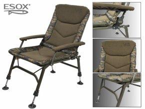 kreslo esox steel chair lux 2018 original