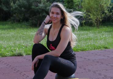 Cvičení Los Křupos sambasádorkou a profesionální trenérkou Nikol Peršínovou