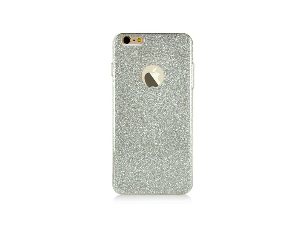 vyrn 312charming ultra slim glitter bling tpu back case cover for iphone 6 6s silver2