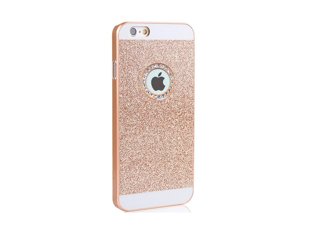 hard case glitter gold