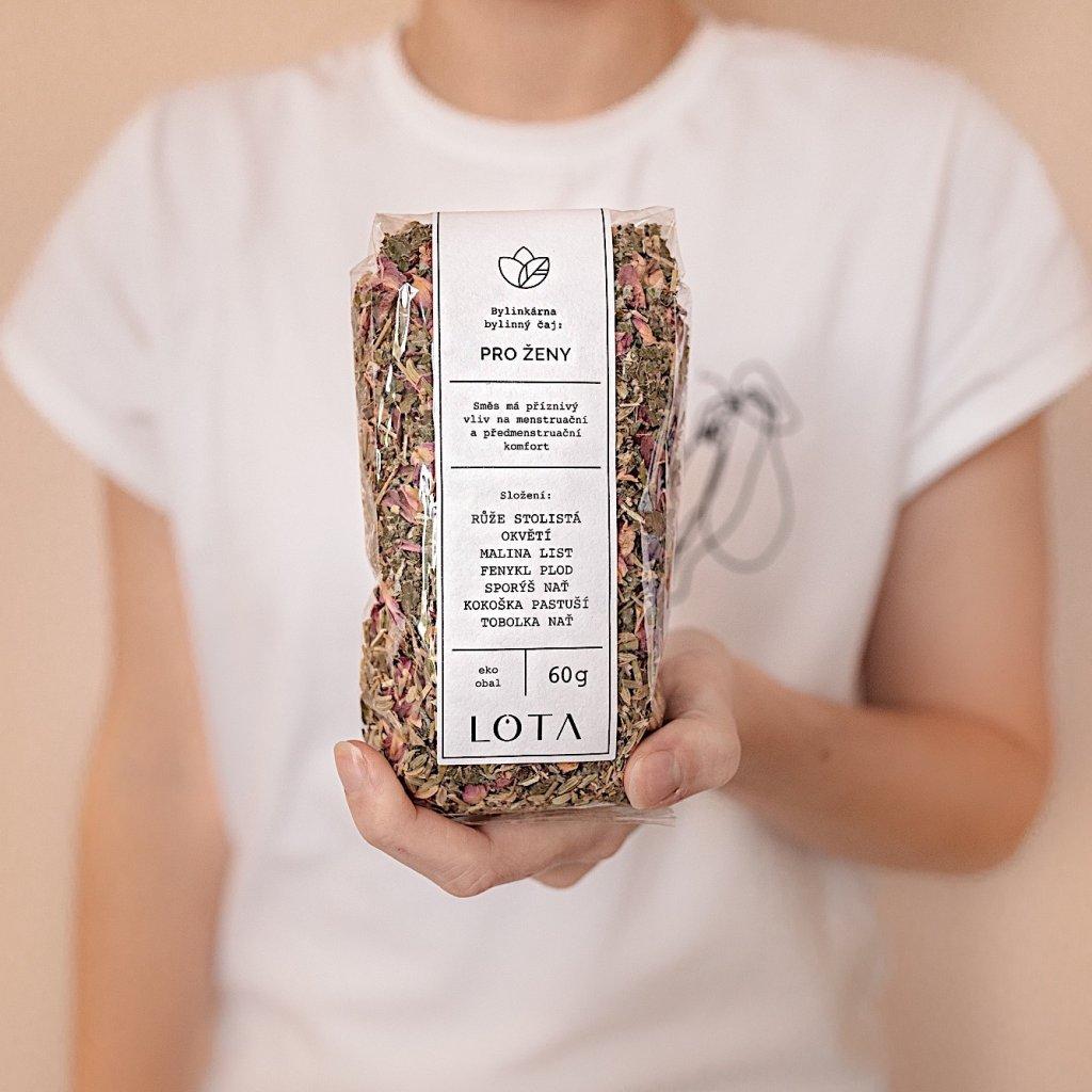 Sypaný bylinný čaj Pro ženy