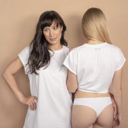 Tričko LOTA bílé