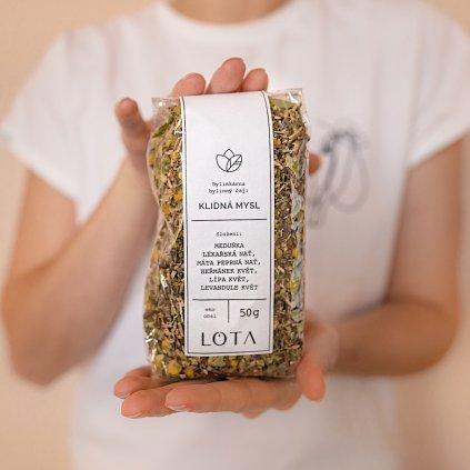 Sypaný bylinný čaj Klidná mysl