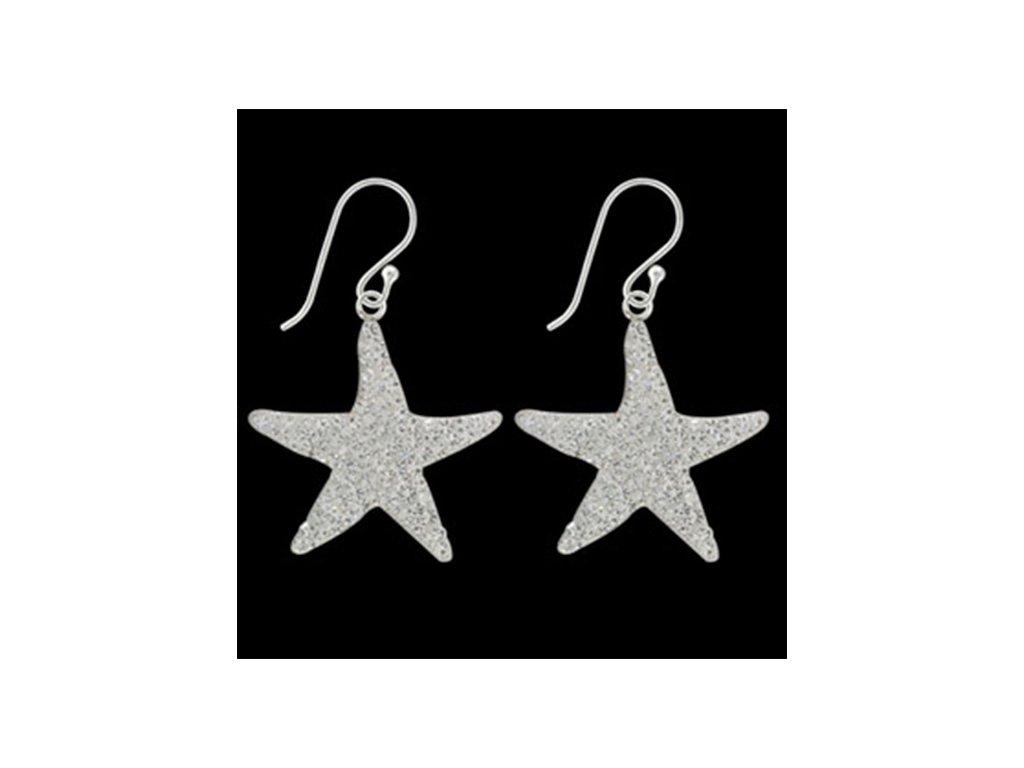 NA9024SWSS Hviezdy - strieborné náušnice so Swarovski krištálmi ... 4644955c76f
