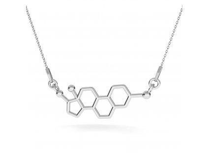NH8166SS estrogen damsky strieborny nahrdelnik