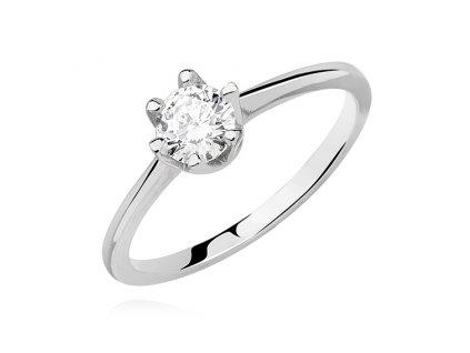 PR7158ZSS Strieborný prsteň