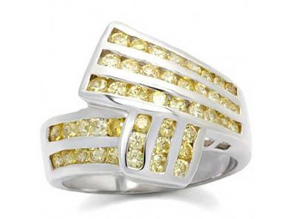 PR3212ZR pansky prsten so zirkonmi