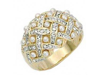 PR3140ZPR prsten zirkony perly