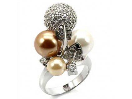 PR4160ZPR prsten s perlami