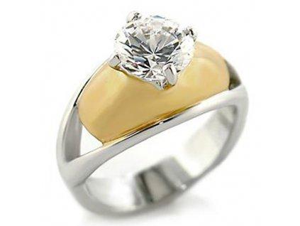 PR4020ZGR prsten so zirkonom