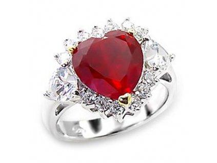 PR0356ZSS strieborny prsten so zirkonom